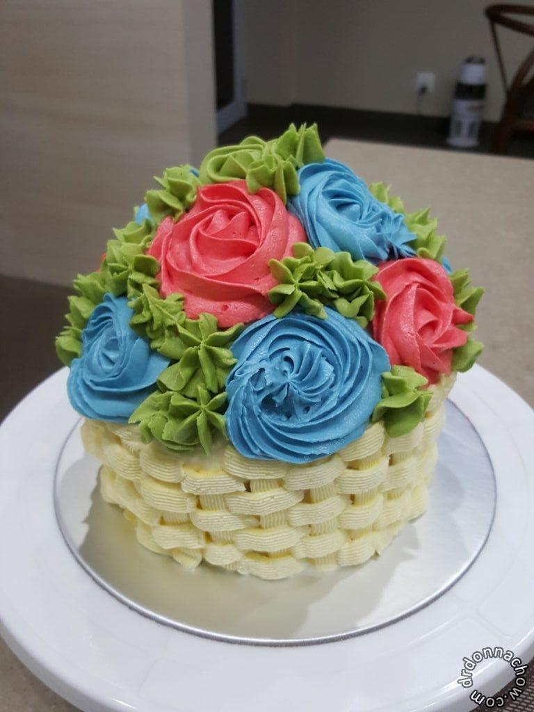 The giant cupcake