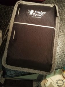 Fridge to go cooler bag