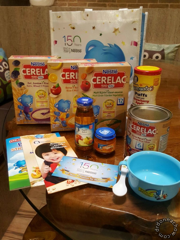 The giveaway CERELAC® hamper