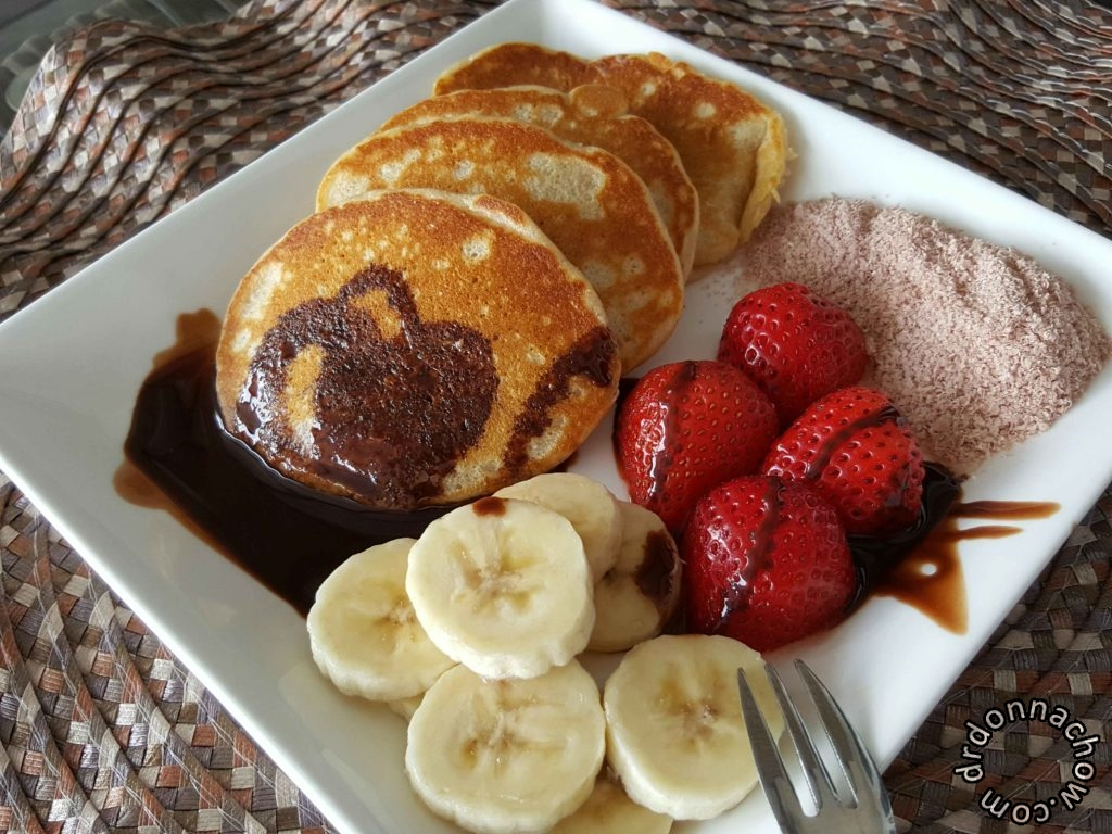 Wake up to yummy golden brown pancakes
