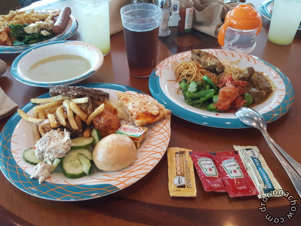 Simple fare at Windjammer