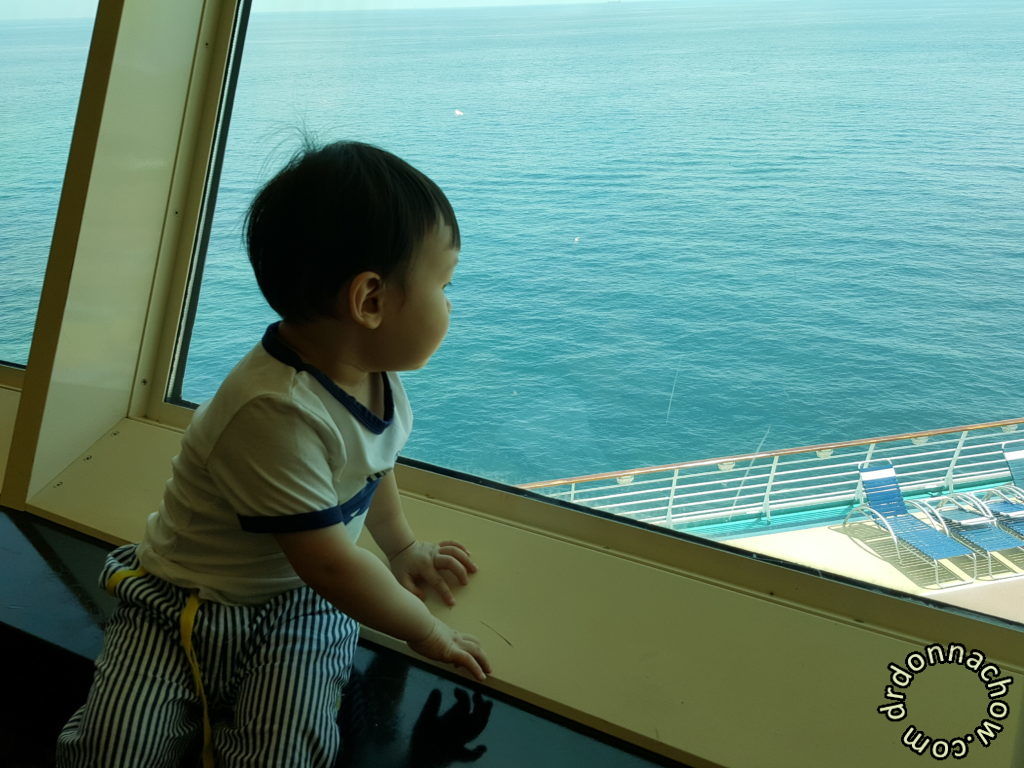 Baby's first cruise