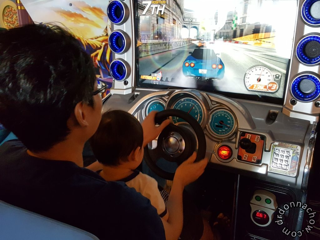 Learning to drive in the games arcade