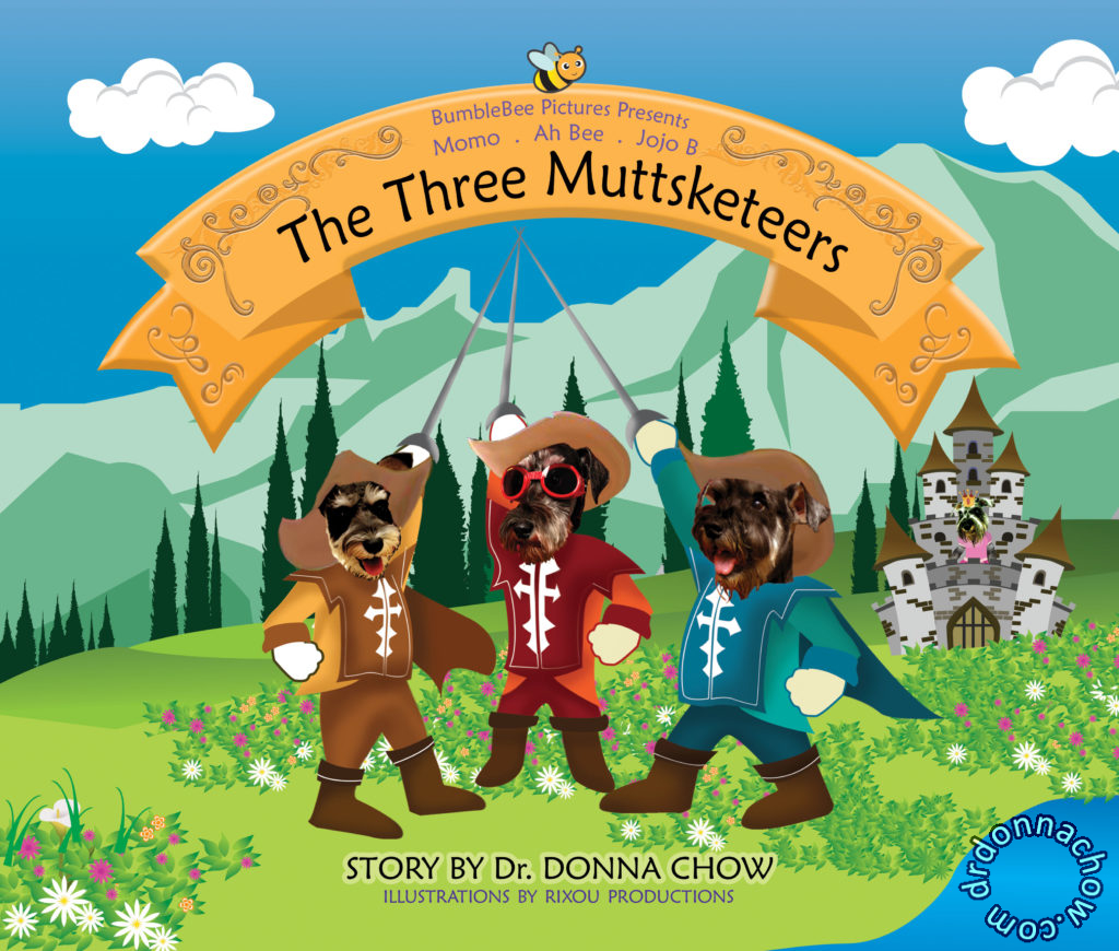 A story of The Three Muttsketeers
