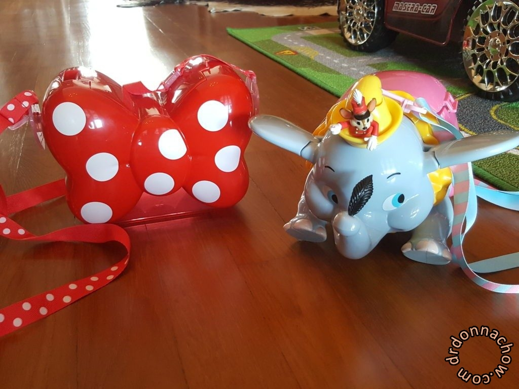 Two popcorn container from Tokyo Disneyland