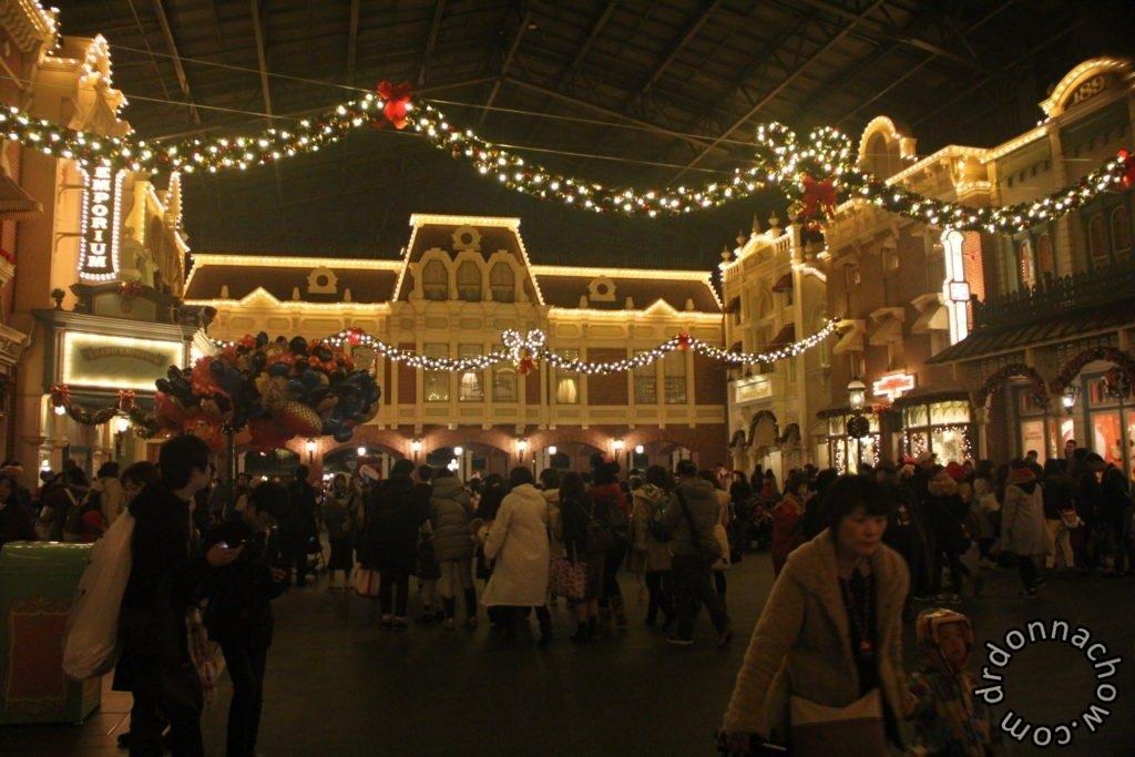 The romantic town at Tokyo Disneyland