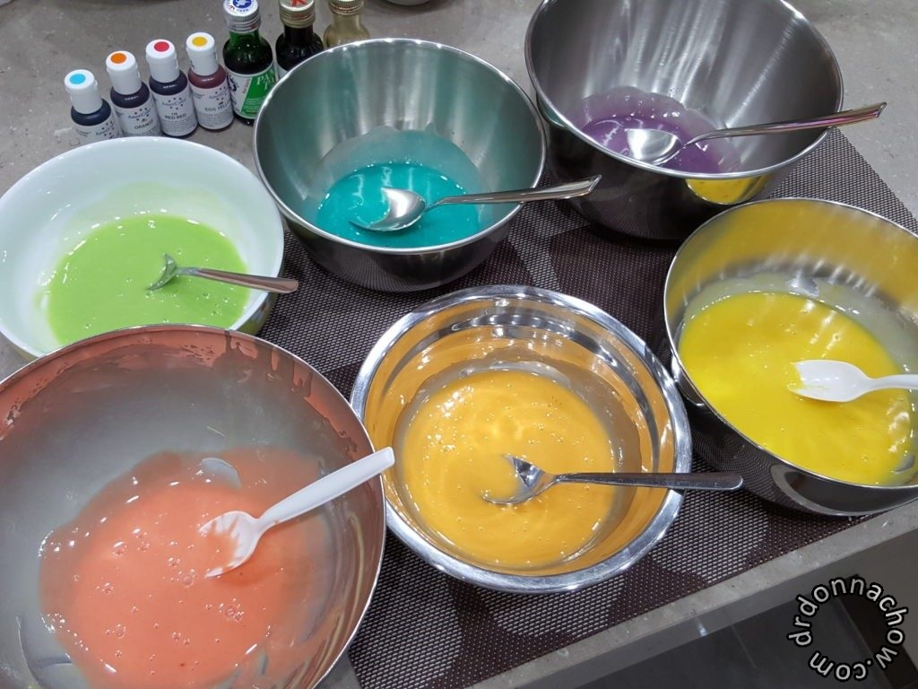 The coloured batter