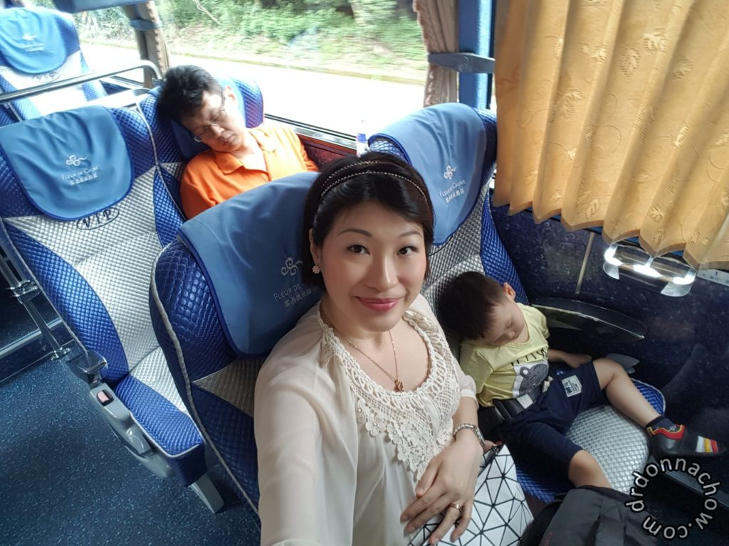 Heading to Sun Moon Lake