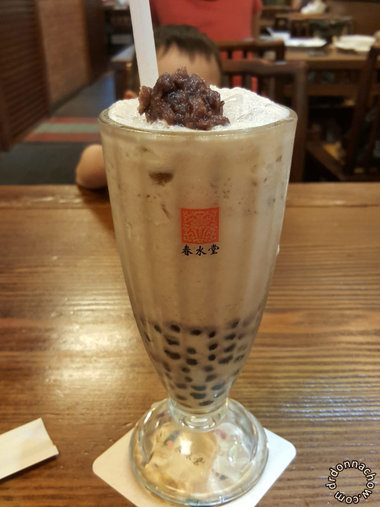 The highlight of Taichung - Bubbletea!
