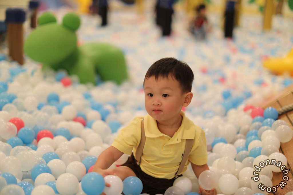 An indoor playground at Taroko Park