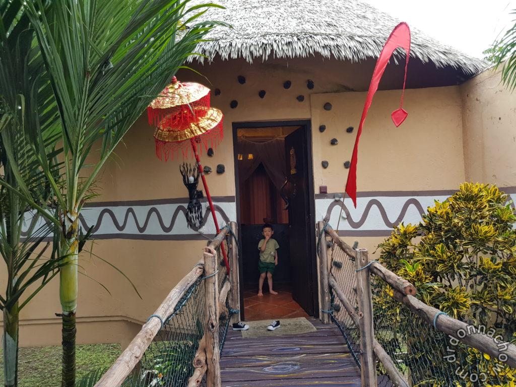 Our little hut