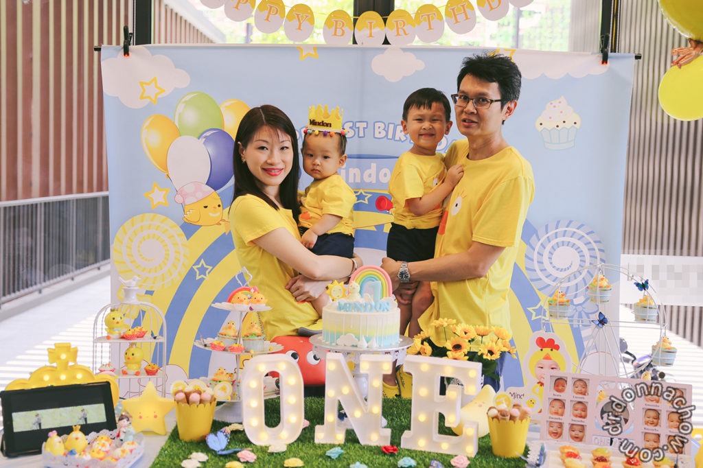Happy First Birthday, Mindon!